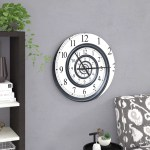 East Urban Home Time Sprial Analog Wall Clock Reviews