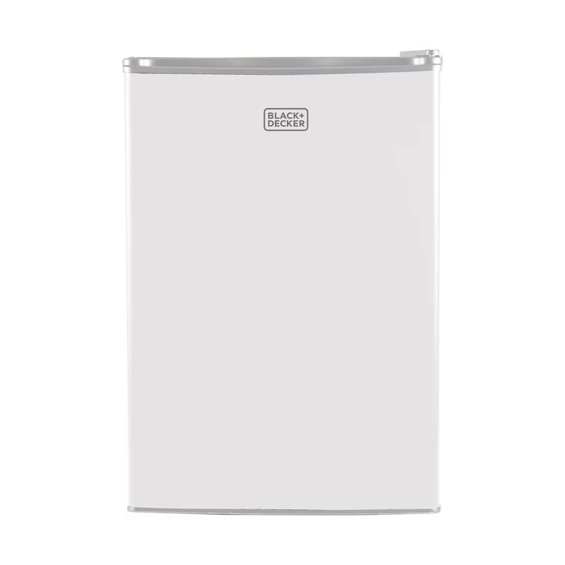 2 5 cu ft freestanding mini fridge with freezer