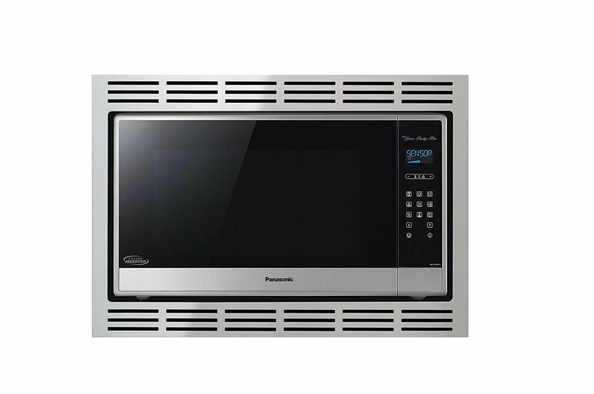 2 2 cu ft microwave 27 stainless steel trim kit