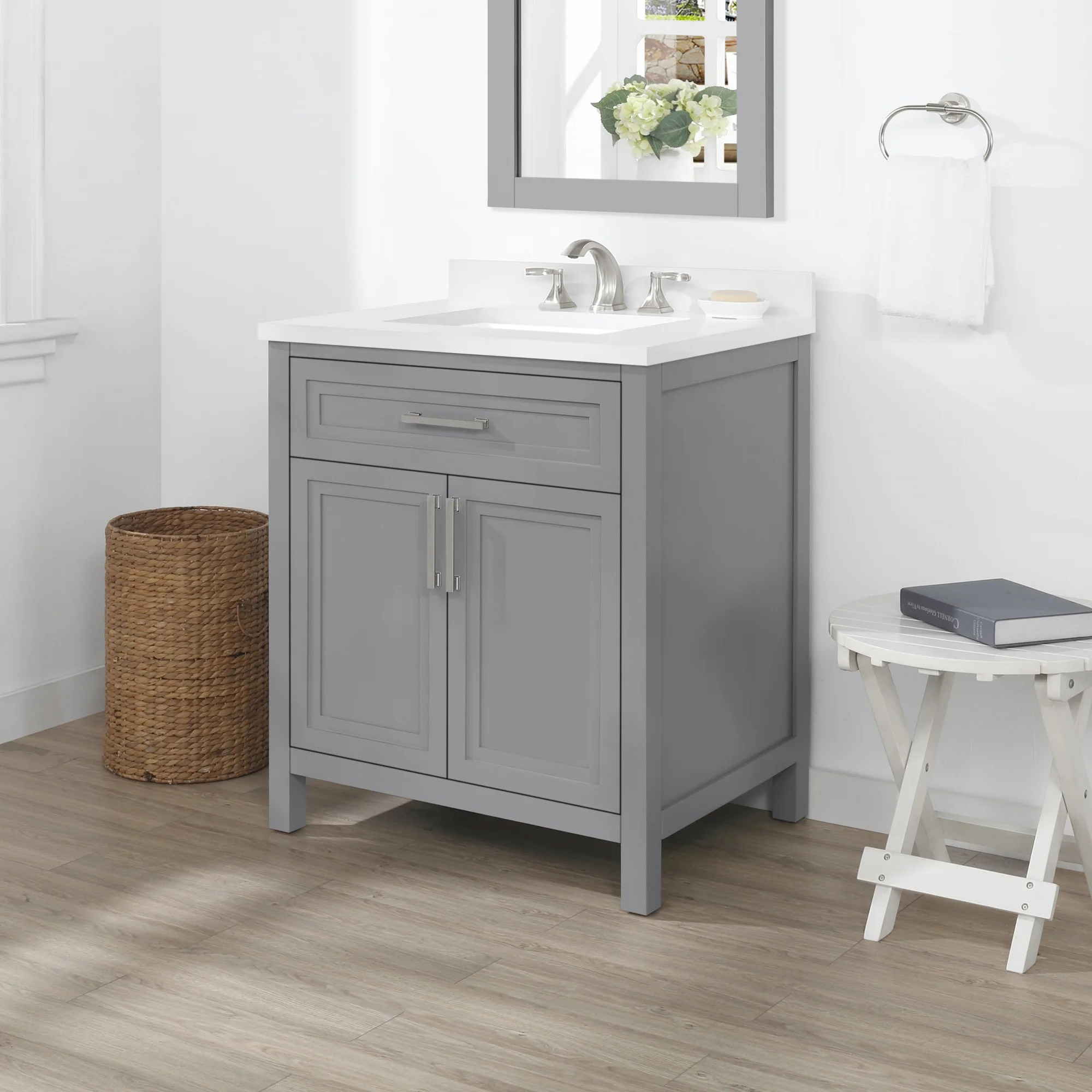 ove decors laney 30 in single sink bathroom vanity in american grey