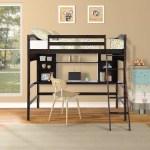 Harriet Bee Stoutland Twin Loft Bed Reviews