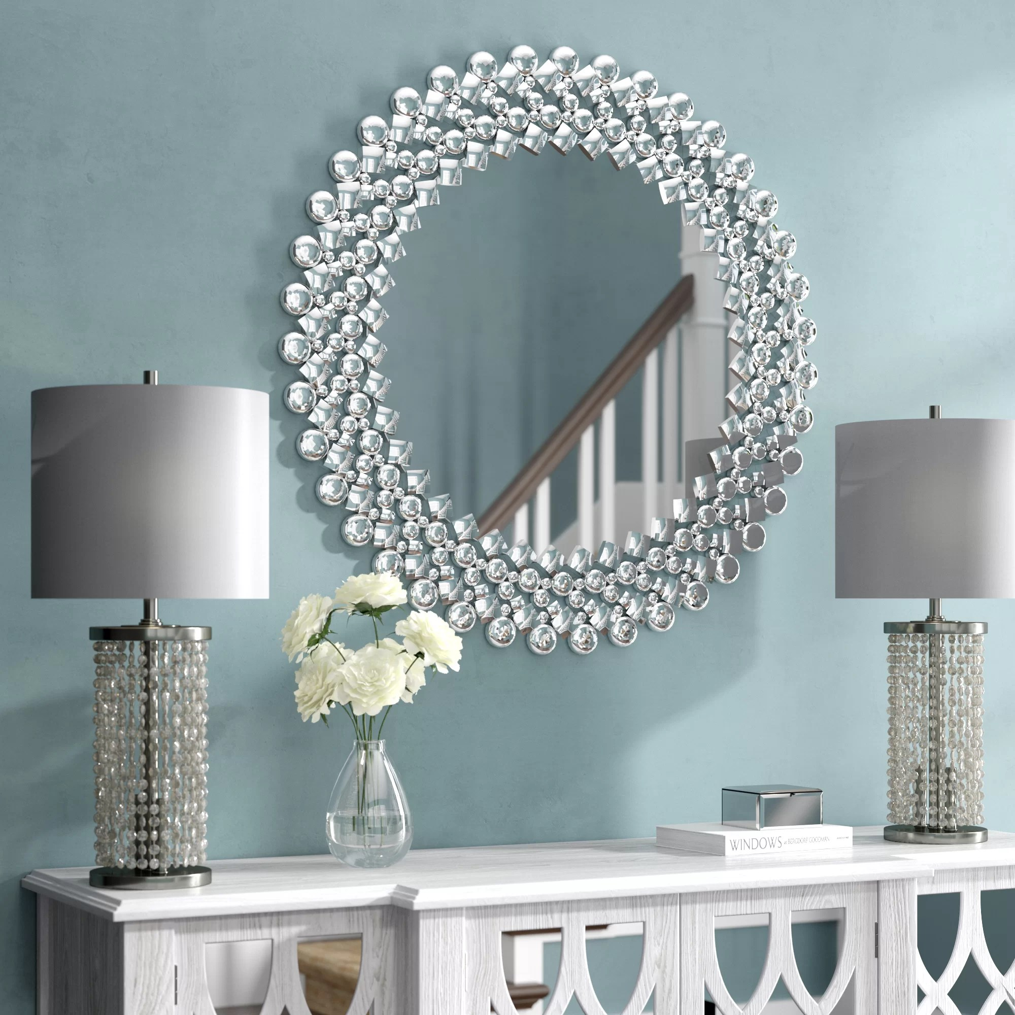 Large Oversized Round Mirrors You Ll Love In 2020 Wayfair