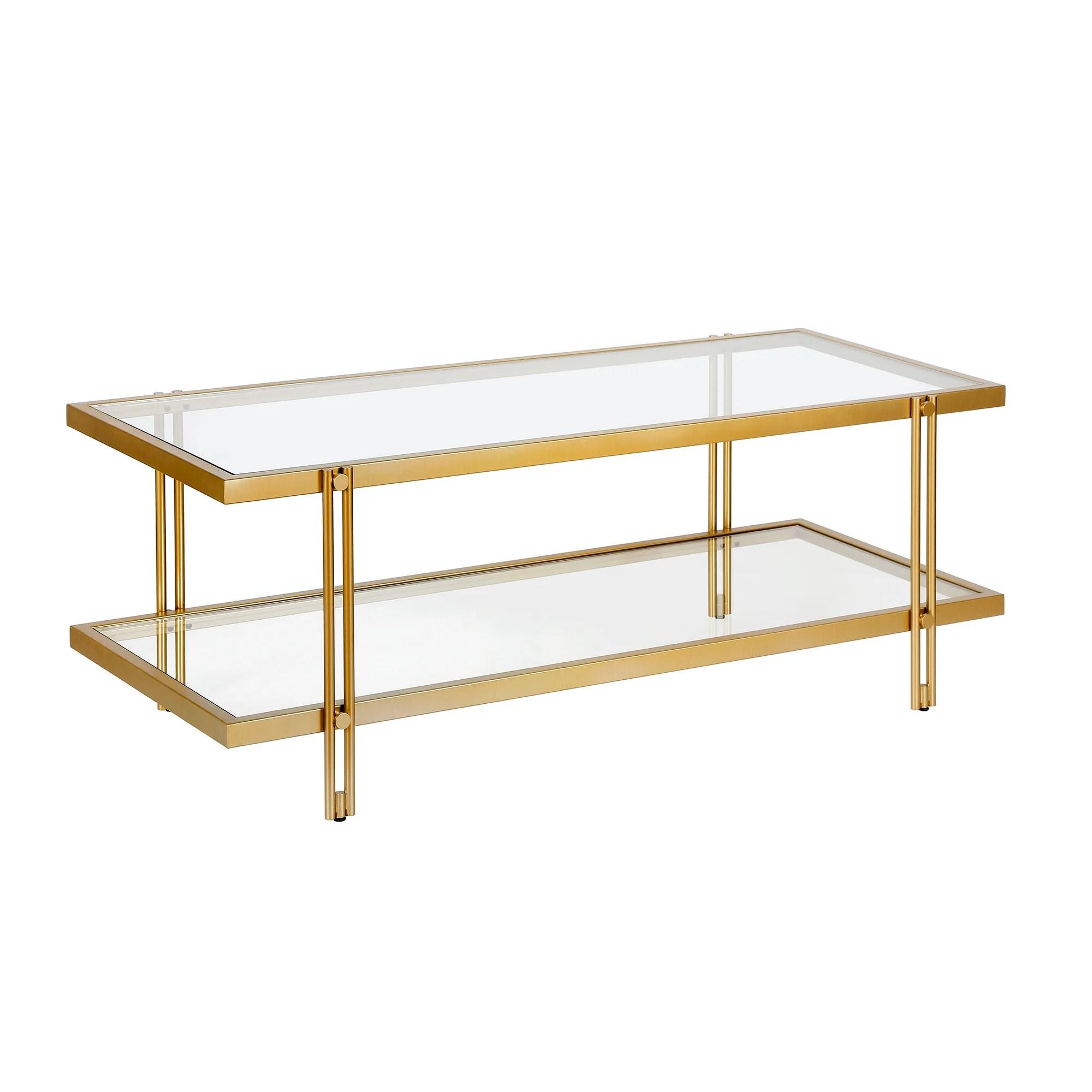 modern brass coffee tables allmodern