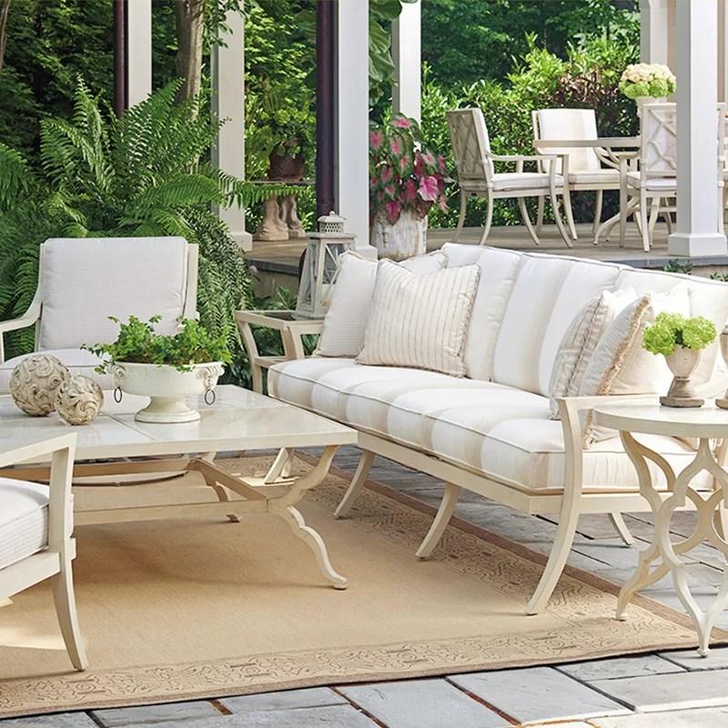 luxury outdoor furniture perigold