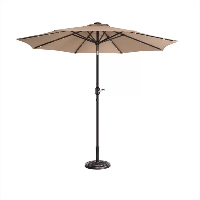tinsley 108 lighted market umbrella