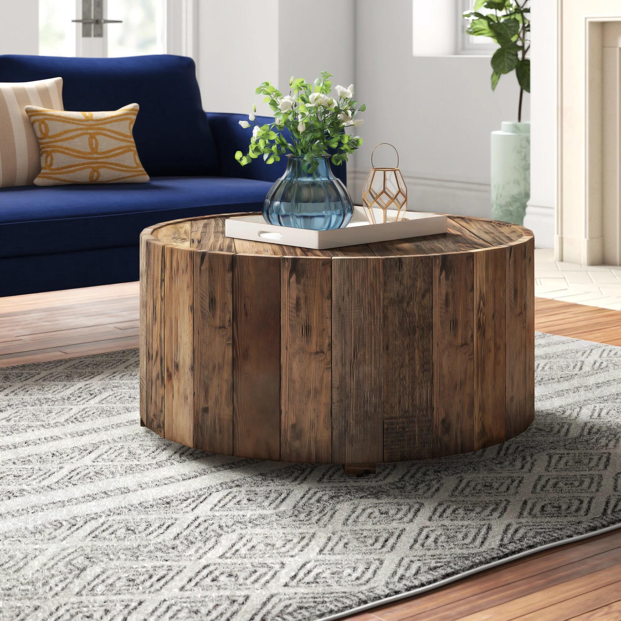 reclaimed wood coffee tables joss main