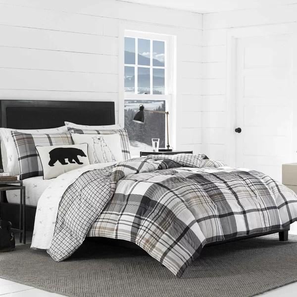 black and beige comforter sets