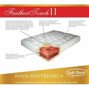 Feather Touch 9 Futon Mattress