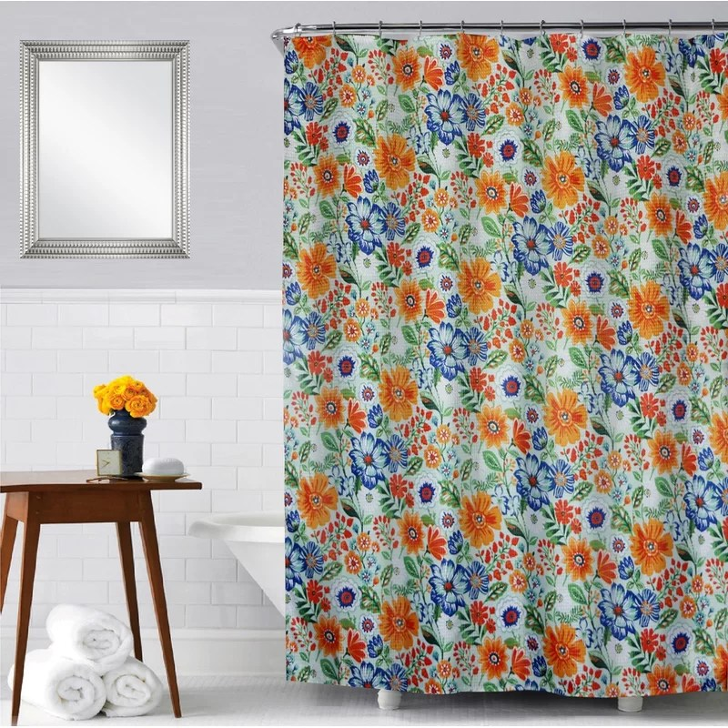 jopling floral single shower curtain