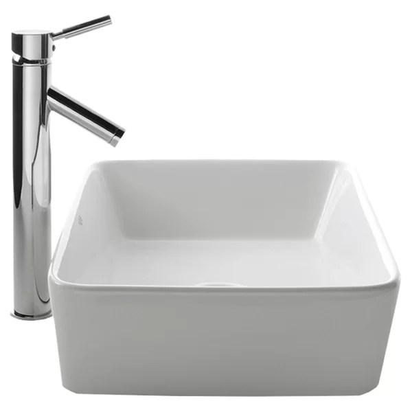 bathroom sinks faucet combos