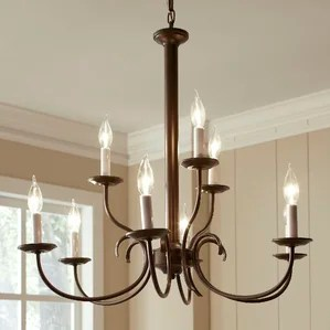 Robbins 9 Light Candle Style Chandelier