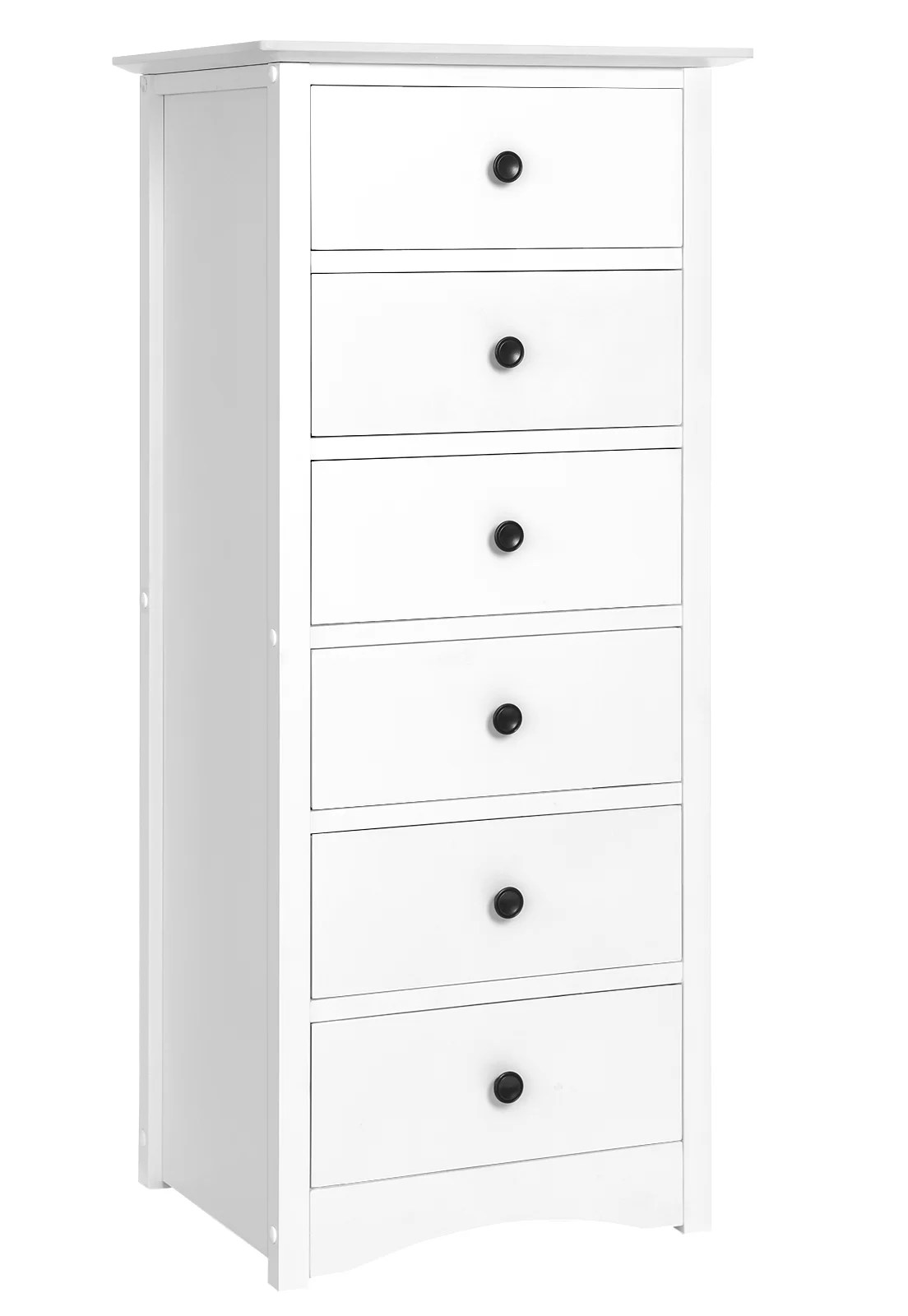 murcia narrow 6 drawer lingerie chest
