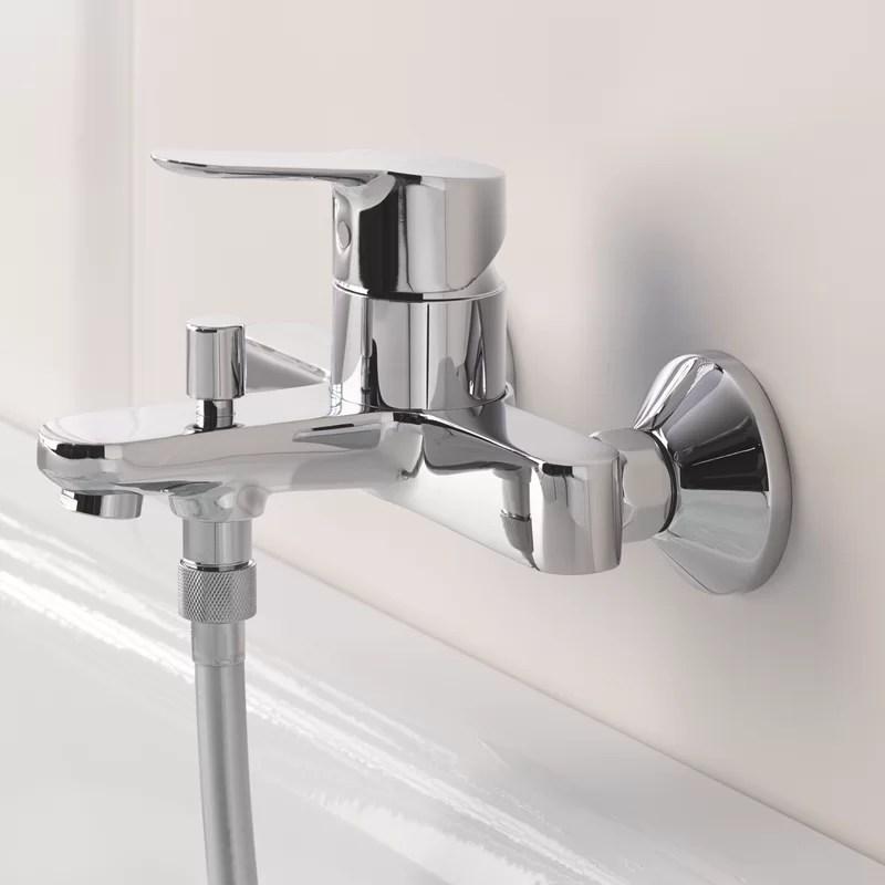 grohe bath shower mixer detachable