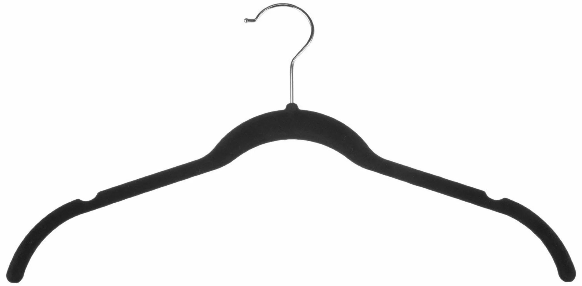 Zen Closet Hang It Ultra Thin Heavy Duty No Slip Velvet
