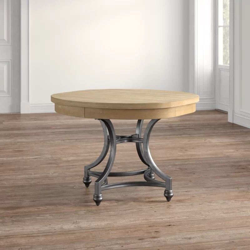 Jaclin Extendable Trestle Dining Table