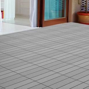 12 x 12 composite interlocking deck tile