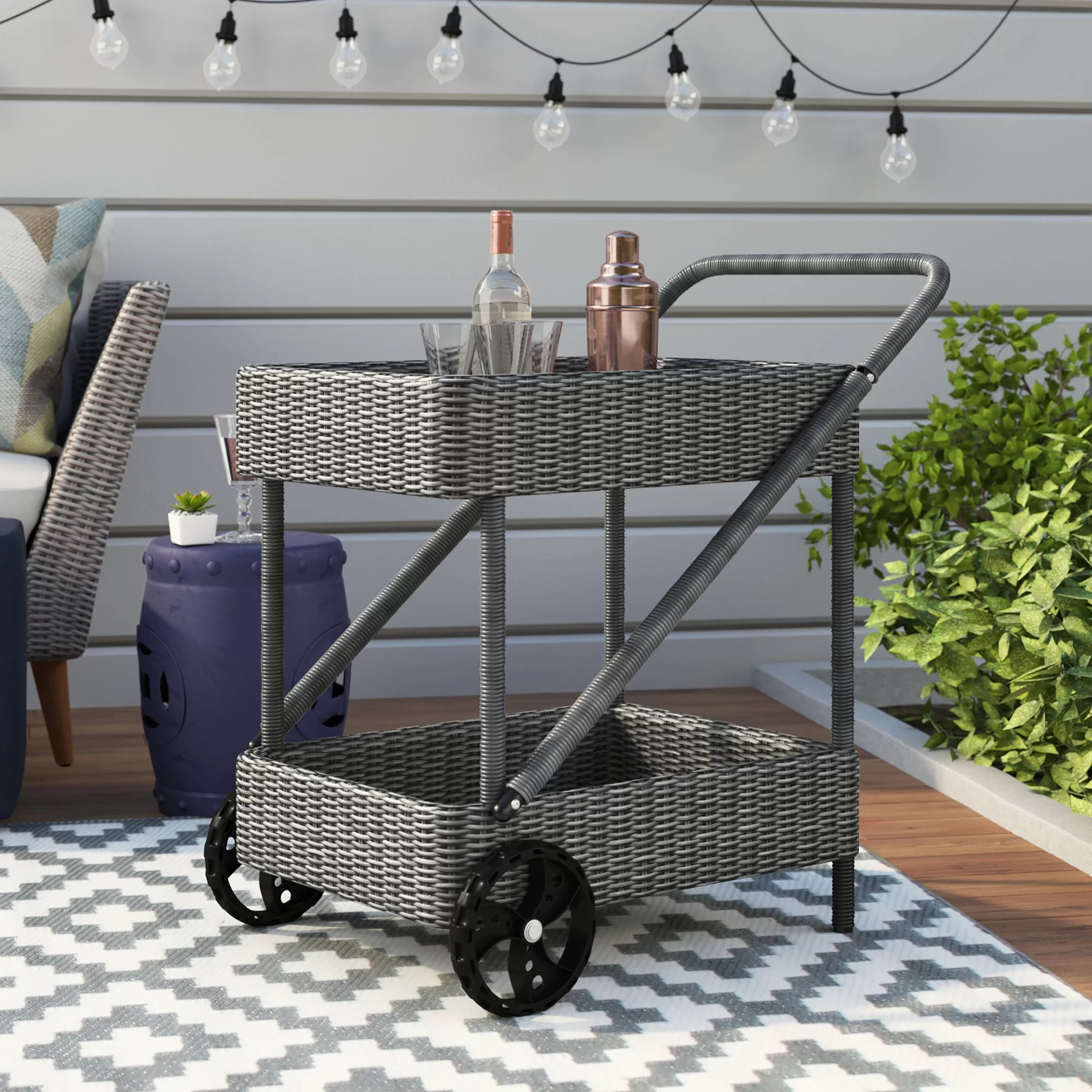 patio serving carts you ll love in 2021