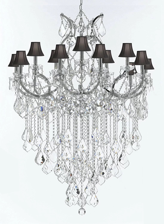 Astoria Grand Alvarado Swarovski 16 Light Shaded Crystal