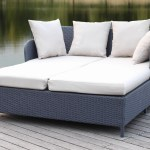 Andromeda Double Chaise Lounge With Cushion Reviews Joss Main