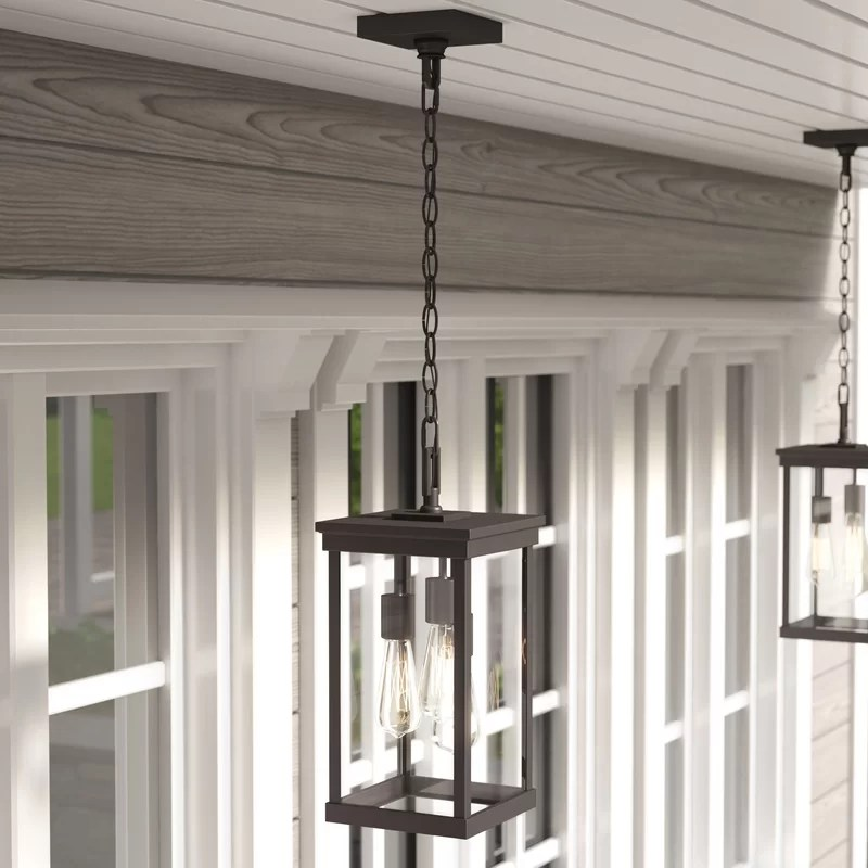 ringling oiled bronze 3 bulb 16 1 h outdoor hanging lantern