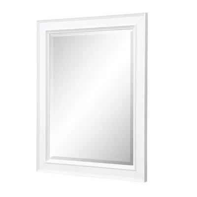 Modern & Contemporary Bathroom Mirror With Storage | AllModern