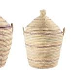 Handwoven 3 Piece Wicker Basket Set Reviews Allmodern