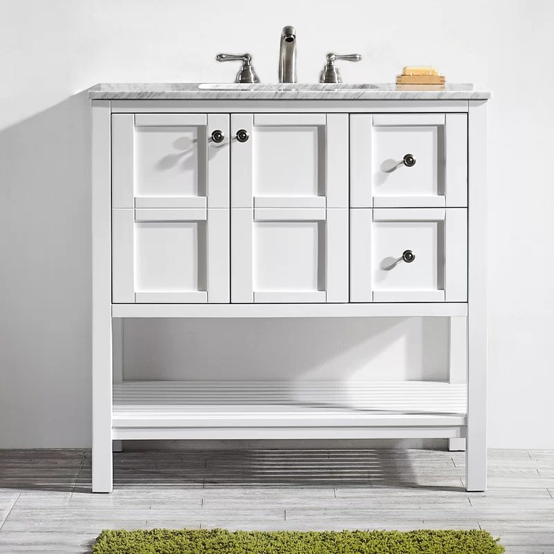 caldwell 36 single bathroom vanity set