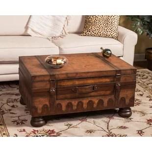 wiersma 4 legs coffee table with storage