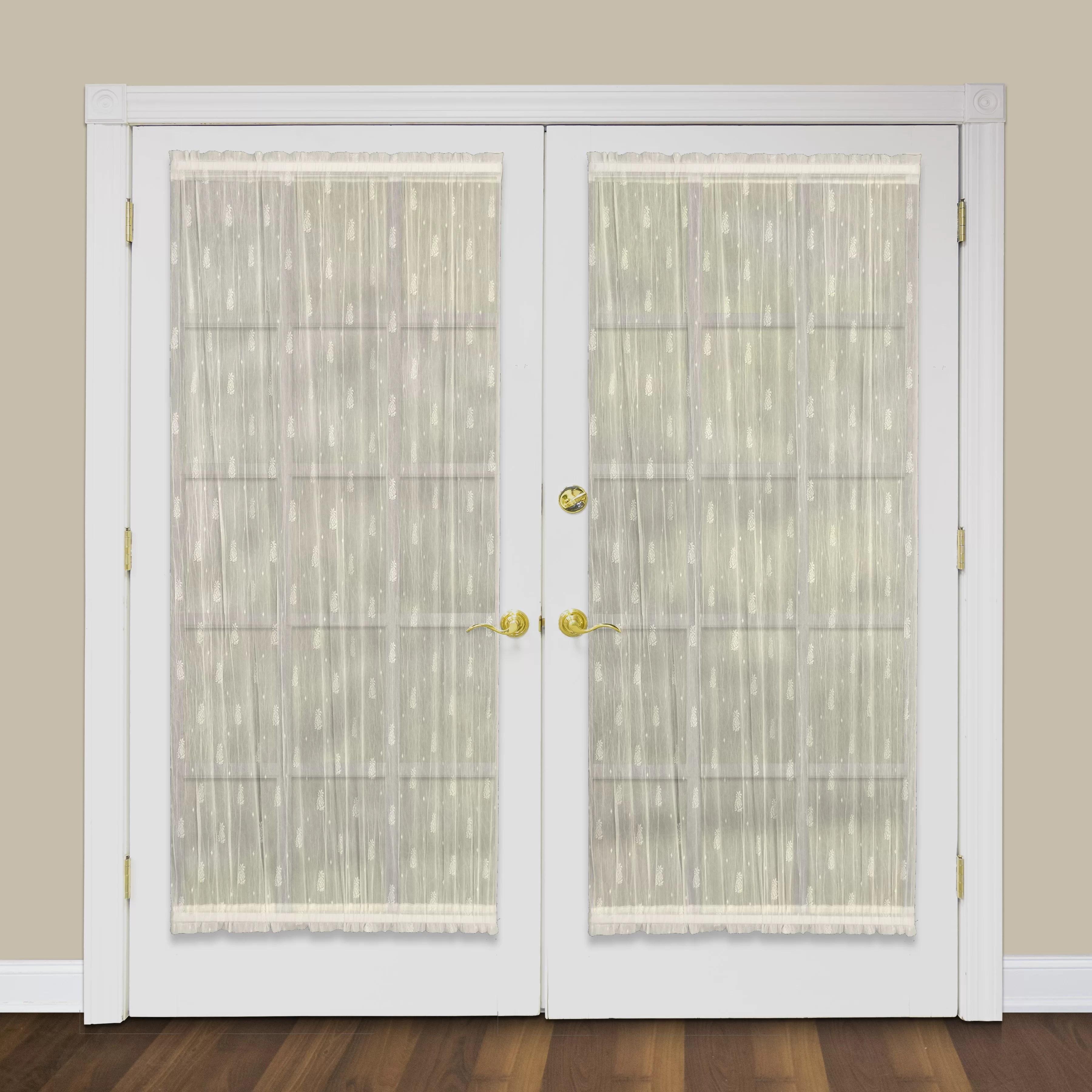 bayou breeze deija door sheer rod pocket single curtain panel reviews wayfair