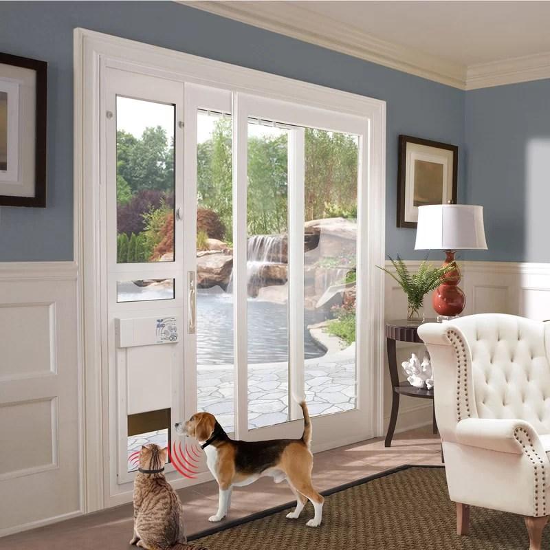 cat door for sliding glass door online