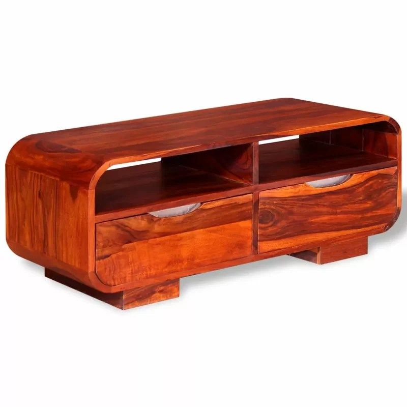 strange coffee table with storage