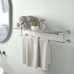 wall mounted towel bars racks and