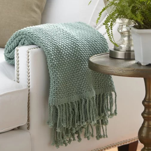Oldham Cotton Throw Blanket