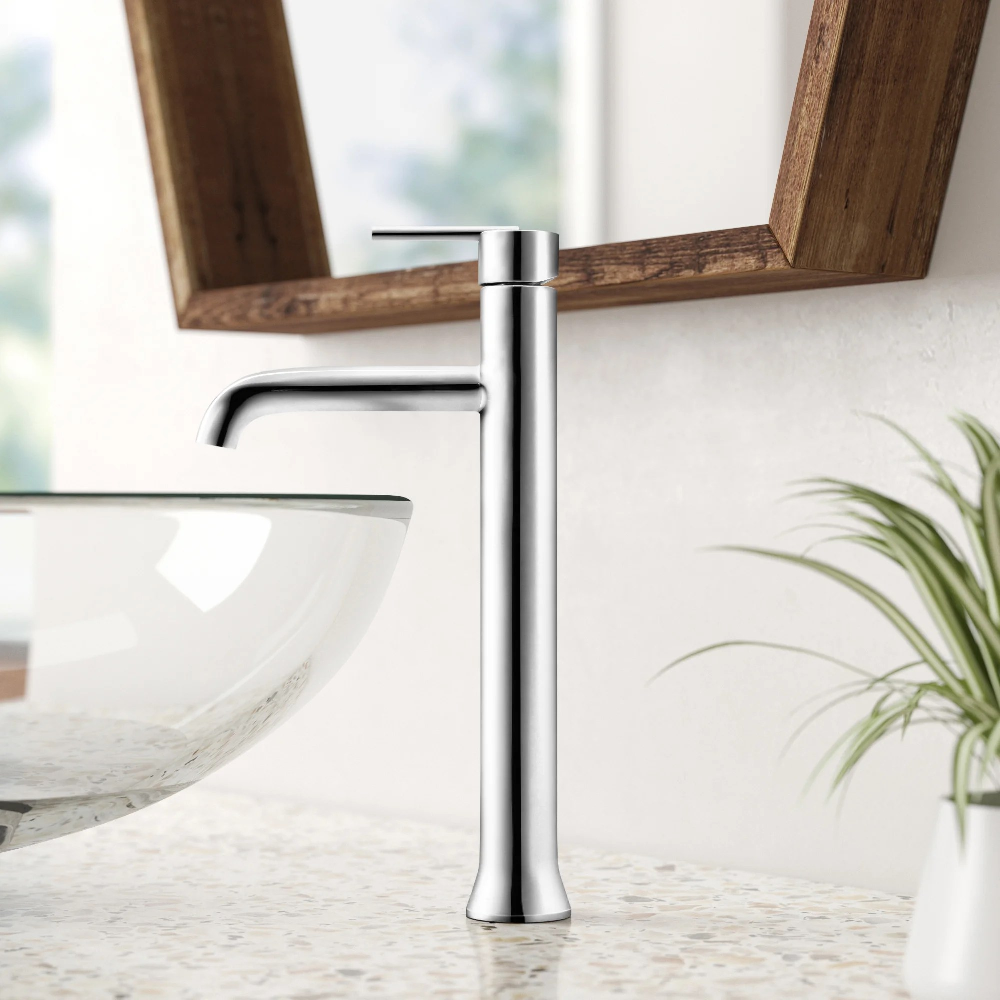 trinsic vessel sink bathroom faucet and diamond seal technology