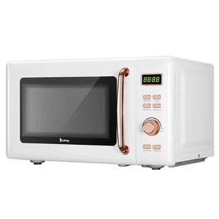 retro white microwaves you ll love in