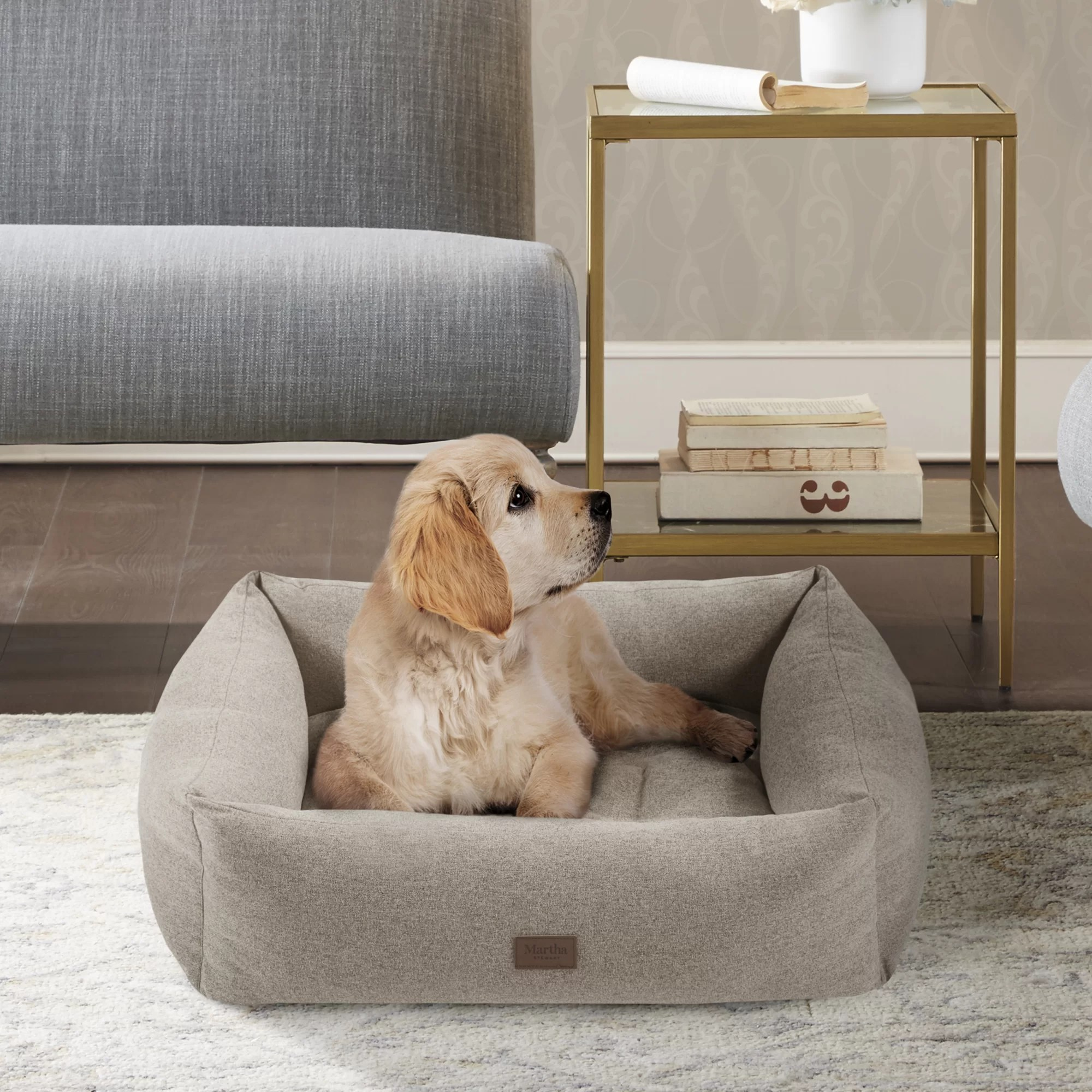 charlie 4 sided bolster with removable cover