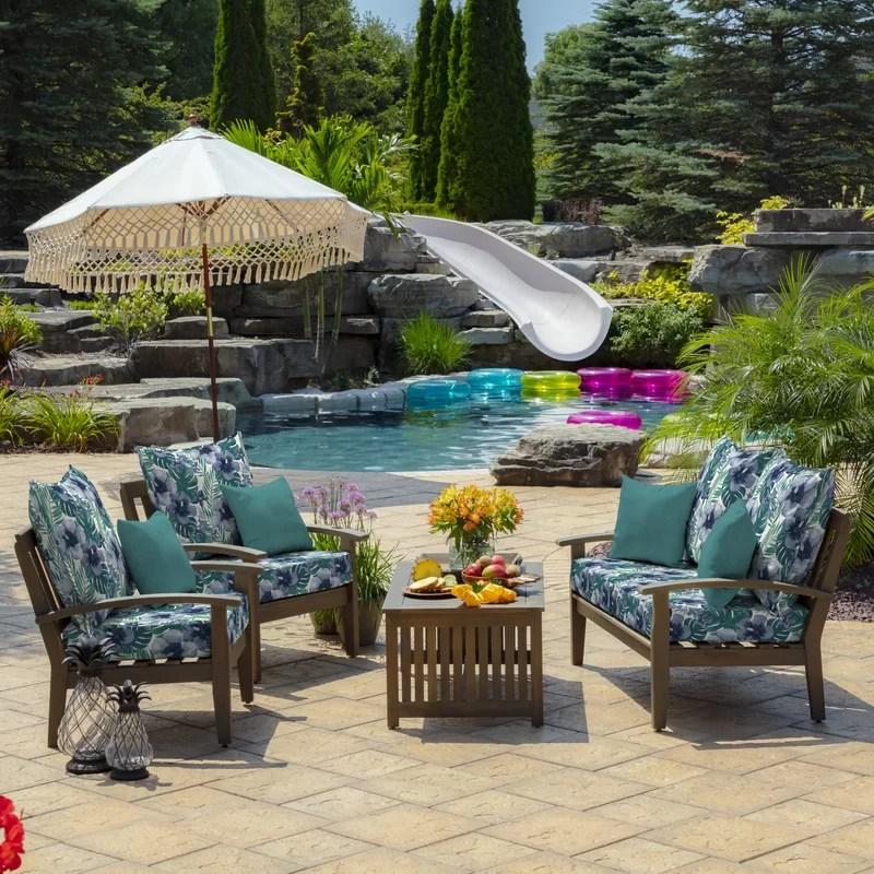 fonseca tropical outdoor seat back cushion