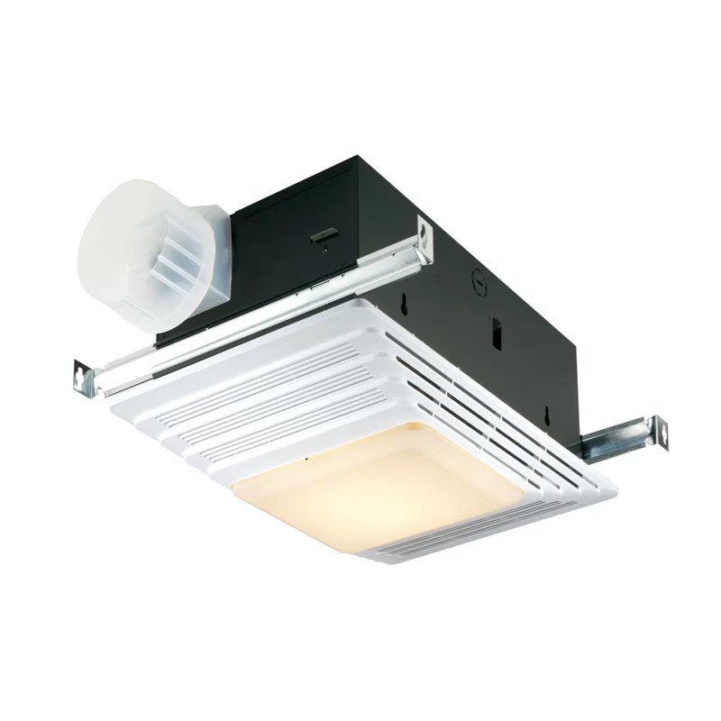 50 cfm bathroom fan and heater with light