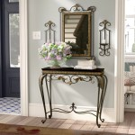 Alcott Hill 37 75 Console Table And Mirror Set Reviews Wayfair