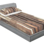 East Urban Home Hardwood Floor Plank Grunge Lodge Garage Loft Rural Graphic Sheet Set Wayfair