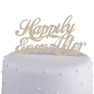 Wedding Cake Toppers You ll Love   Wayfair Wedding Cake Toppers