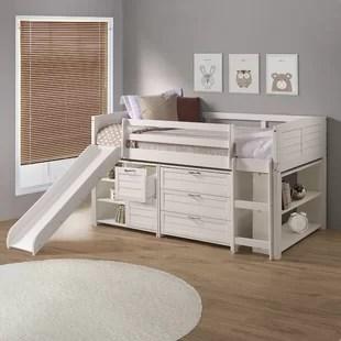 christenberry louver twin low loft configurable bedroom set