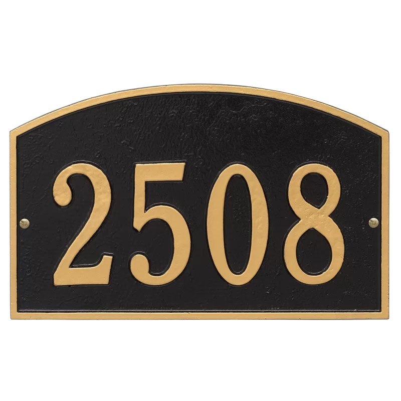 Address Signs For Homes Near Me