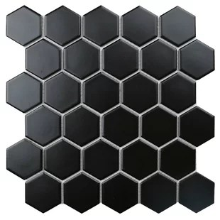 value series 2 x 2 straight edge porcelain mosaic sheet