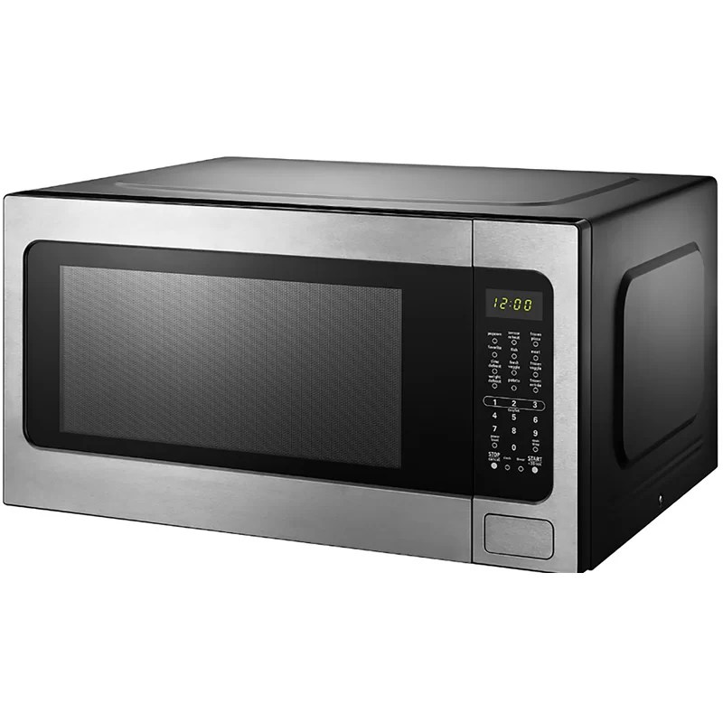 black decker 24 41 2 2 cubic feet cu ft 1200 watt watt countertop microwave with sensor cooking