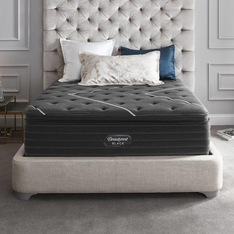 beautyrest black 16 plush pillow top mattress