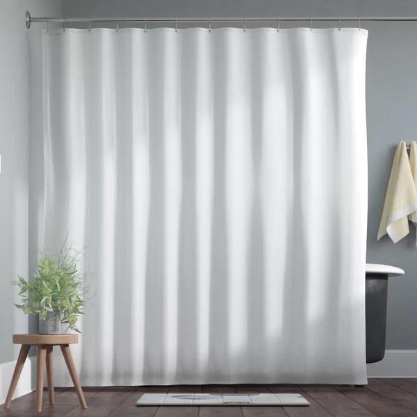 mildew resistant nautical shower curtain