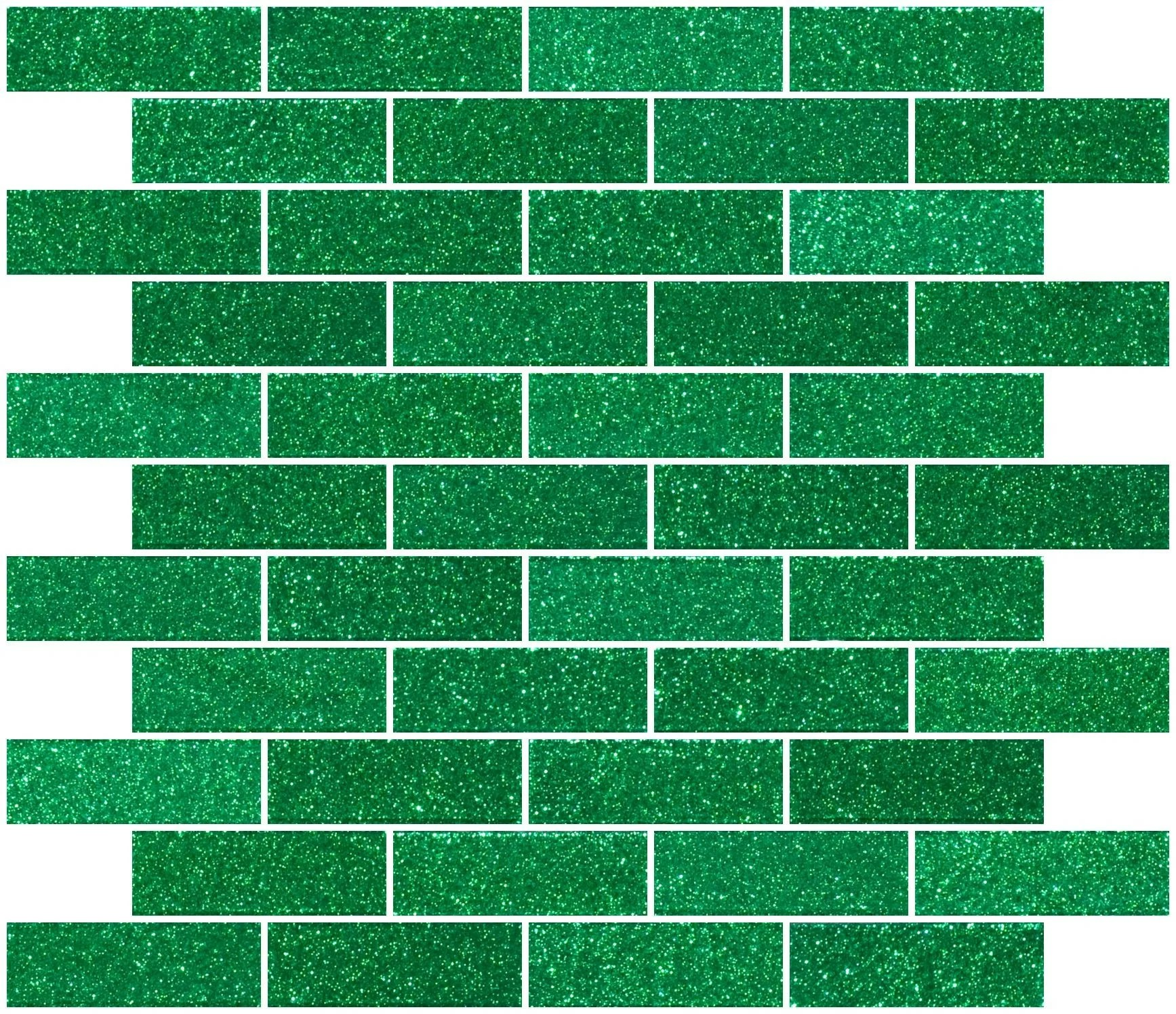 kily 1 x 3 glass subway tile in emerald green