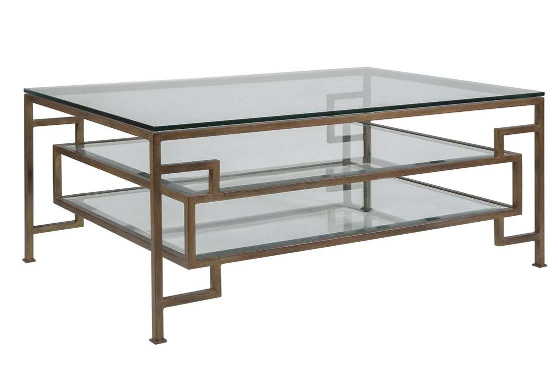 metal designs coffee table with storage