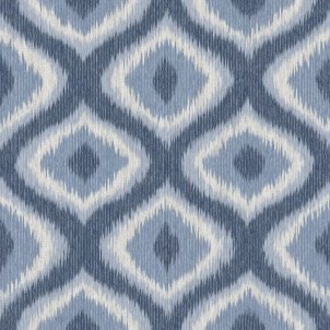 "Abra 33' x 20.5"" Ikat Wallpaper Roll"